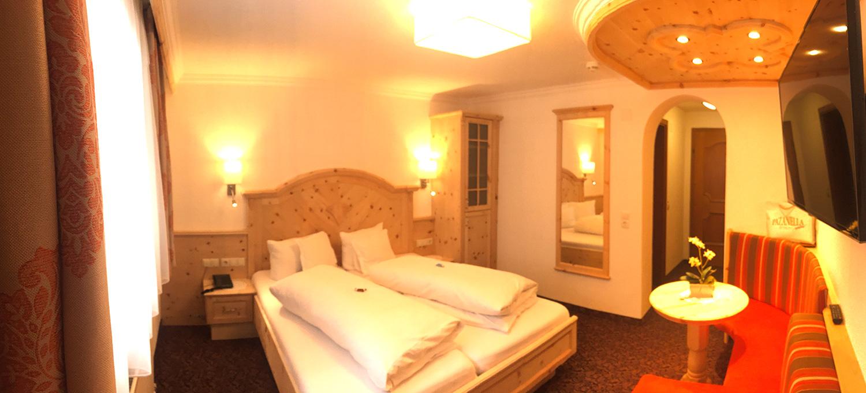 Hotel Garni Pazanella Ischgl_Doppelzimmer Souterrain